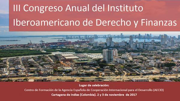 III Congreso Anual del Instituto Iberoamericano de Derecho y Finanzas