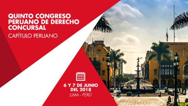IV Congreso Nacional De Derecho Concursal Perú