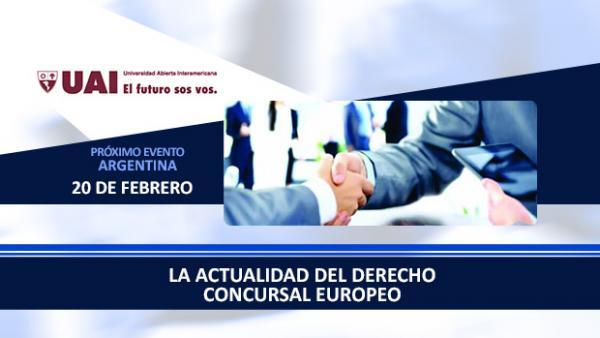 La Actualidad del Derecho Concursal Europeo